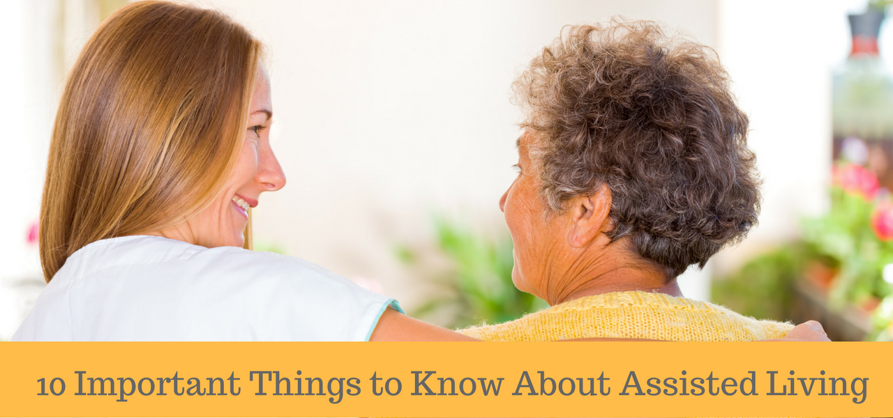 10 Important Things to Know About Senior Living