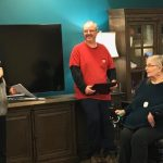 Diane Cadonau Honored for Volunteer Work