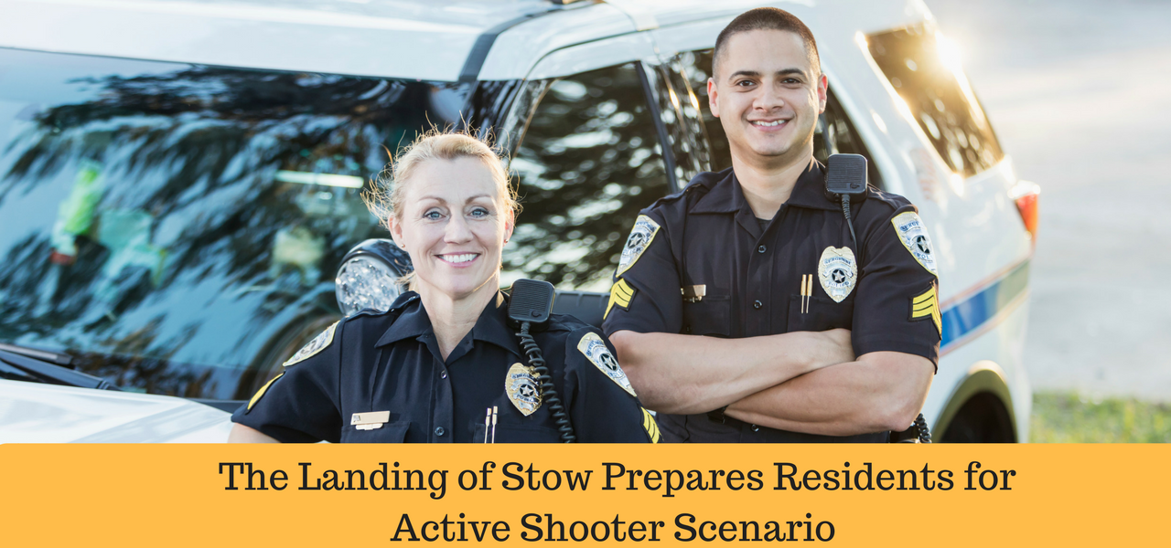 The Landing of Stow Prepares Residents for Active Shooter Scenario