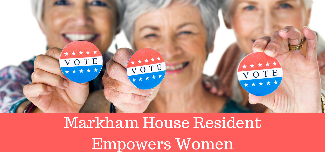 Markham House Resident Empowers Women