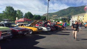 Classic Car Show at Treeo South Ogden