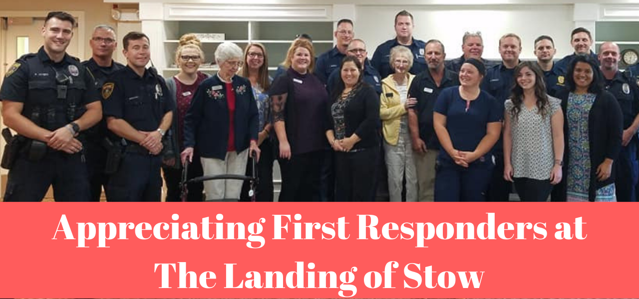 Appreciating First Responders at The Landing of Stow