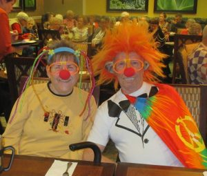 Clown Costume at Fairwinds - River's Edge