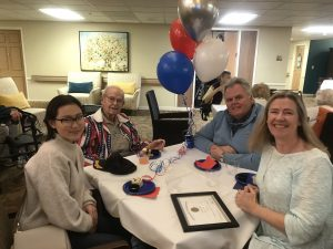 Veterans Day Celebration at Canfield Place