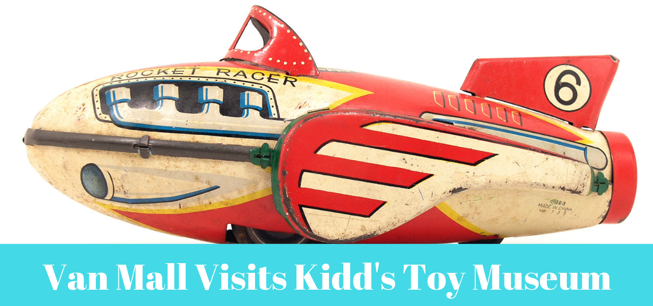 Vintage Airplane - Van Mall Visits Kidd's Toy Museum