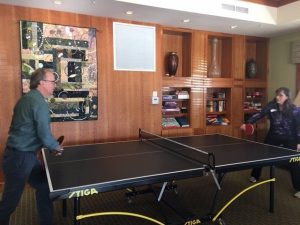 Ping Pong Tournament at MacKenzie Place - Fort Collins