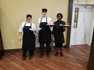 Culinary Team at CPASS Brunch