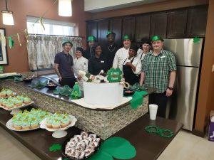 Culinary Team and Program Manager at St. Patrick's Day Party