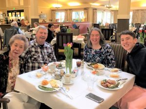 Easter Brunch at Canfield Place
