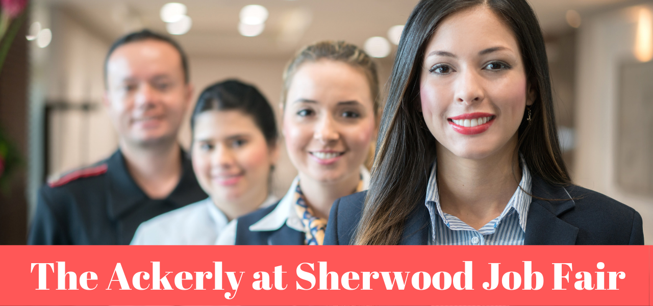 The Ackerly at Sherwood Job Fair