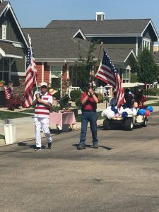 Fourth of July Parade at MacKenzie Place