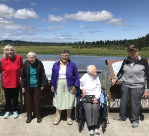 Canfield Place Residents at Tualatin Wildlife Refuge