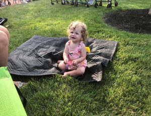 Child at Summer Concert Series