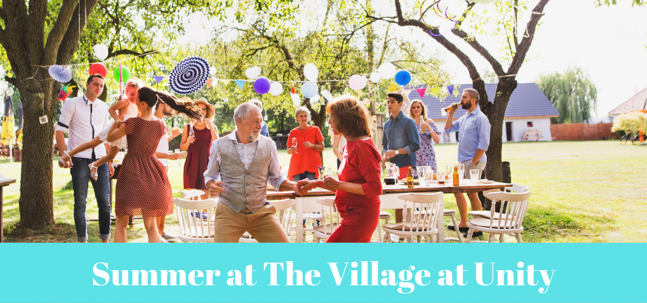 Summer at The Village at Unity