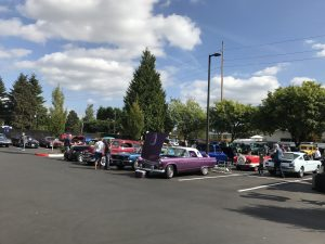 Cars at Van Mall Car Show