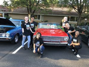 Team at Van Mall Car Show