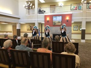 Canfield Place Hula Dancers