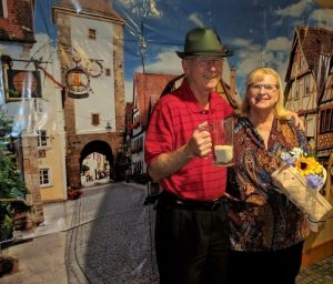 MacKenzie Place - Fort Collins Residents at Photo Booth for Oktoberfest