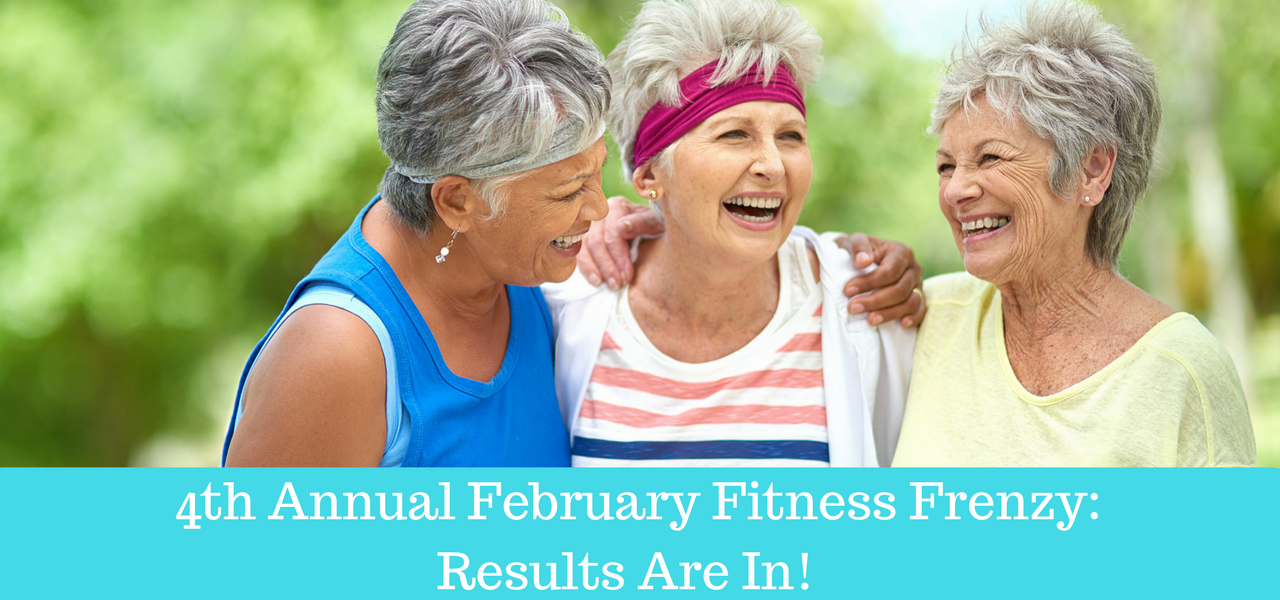 4th Annual February Fitness Frenzy: Results Are In!