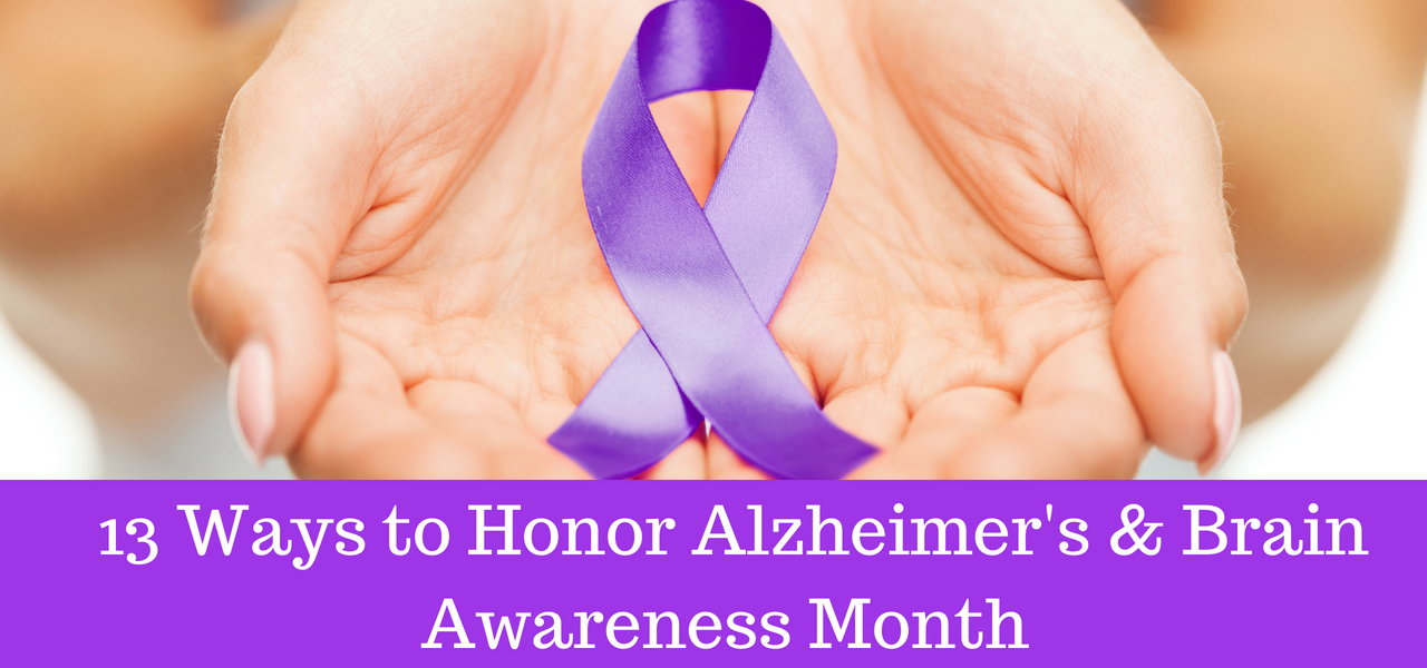 Alzheimers and Brain Awareness Month