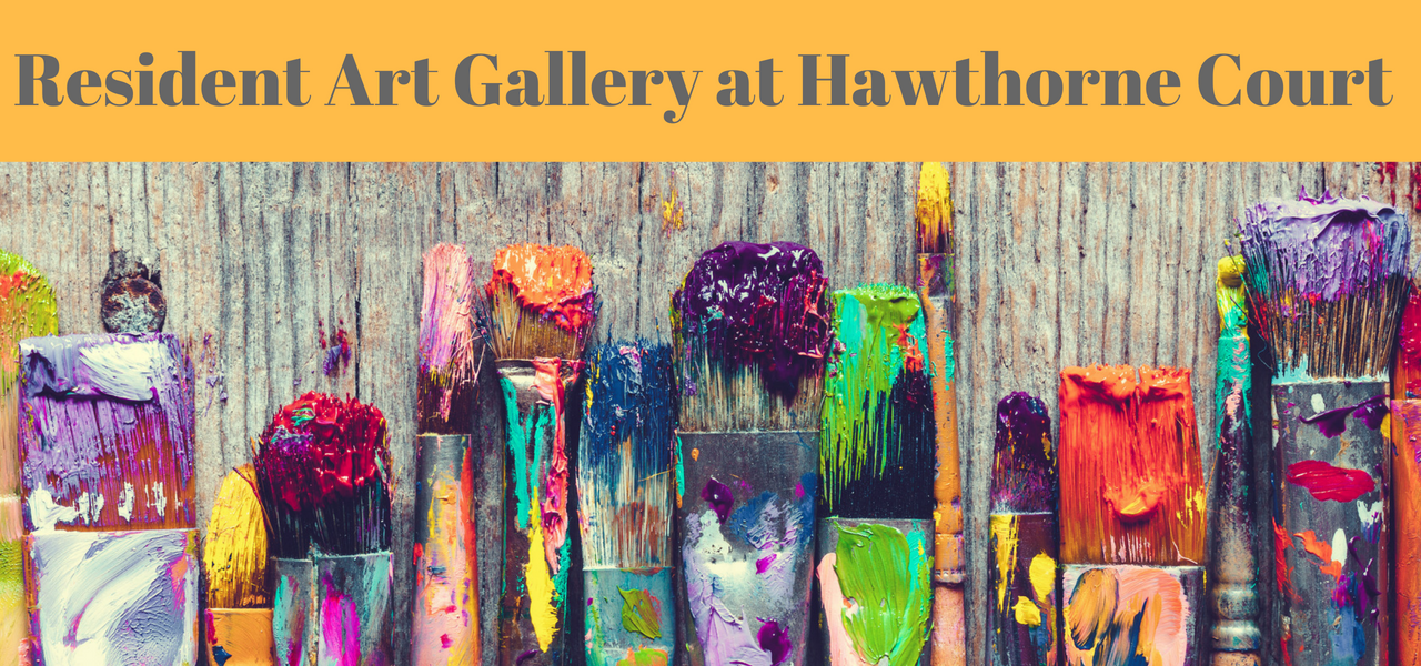 Resident Art Gallery at Hawthorne Court