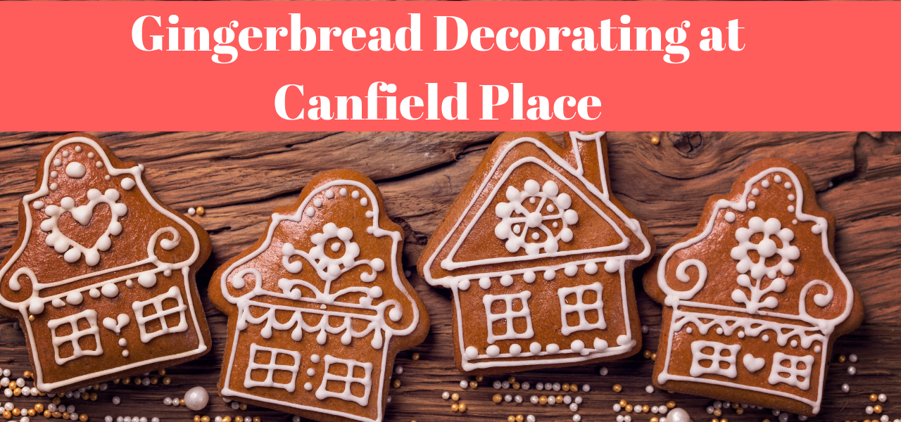 Canfield Place Gingerbread Decorating