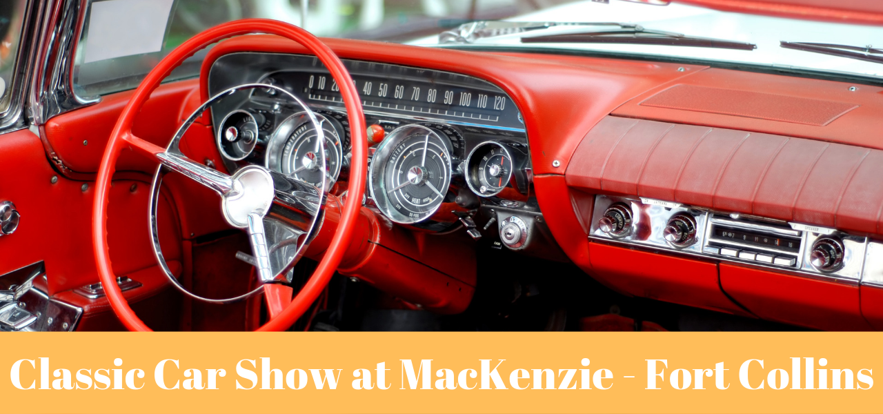 Classic Car Show at MacKenzie Place - Fort Collins
