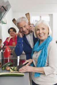 Seniors Cooking Healthy