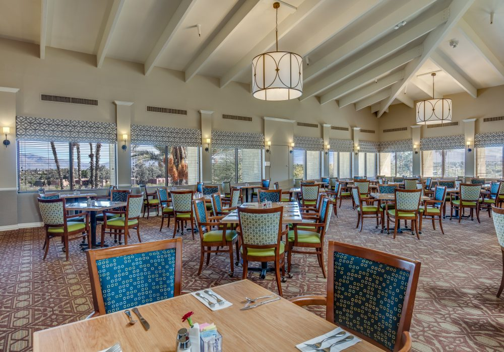Dining Room - Broadway Proper Retirement Community