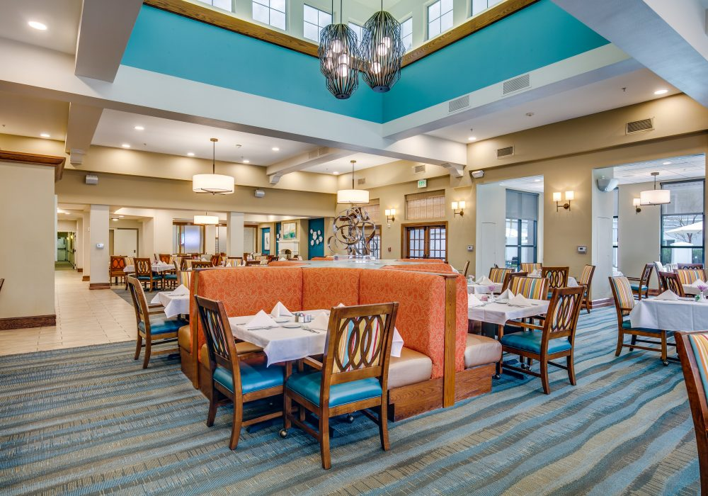 Dining Room - Fairwinds - Woodward Park Retirement Community