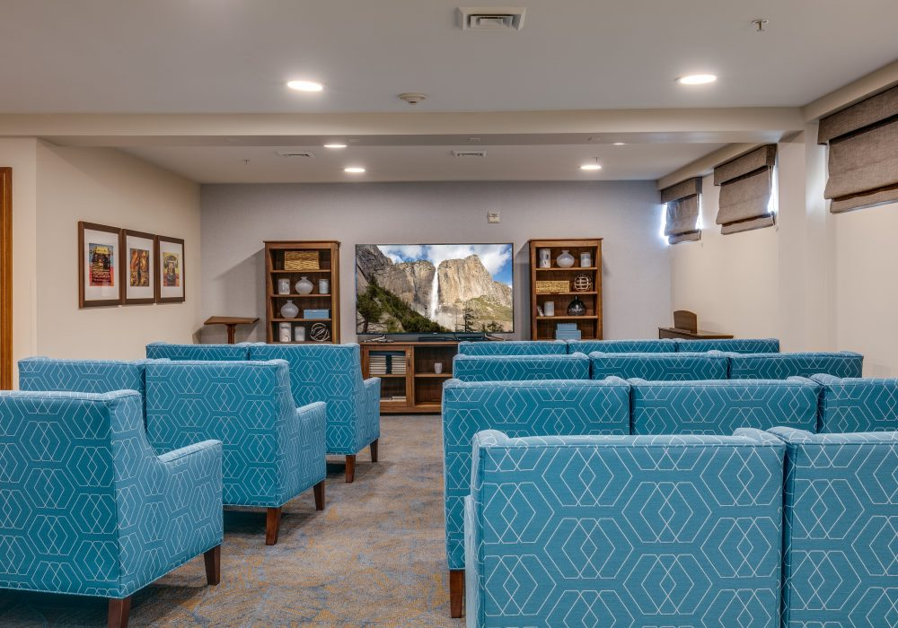 Movie Theater - Fairwinds - Woodward Park Retirement Community