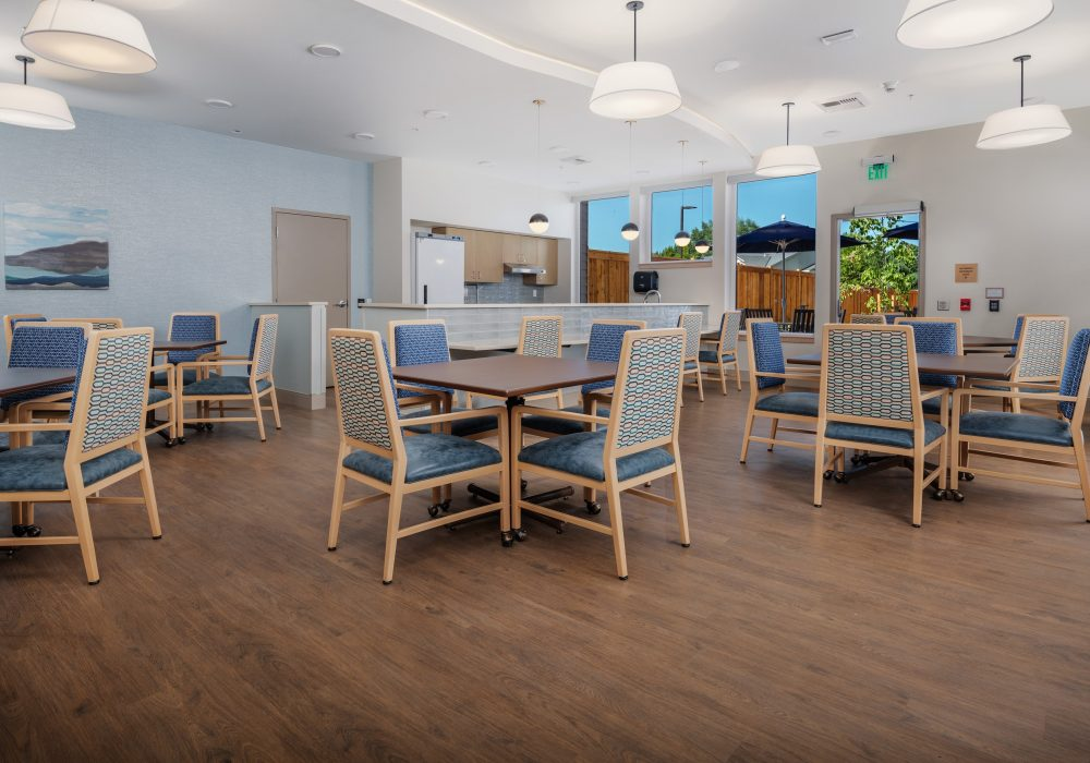 Memory Care Dining Room at The Ackerly at Sherwood