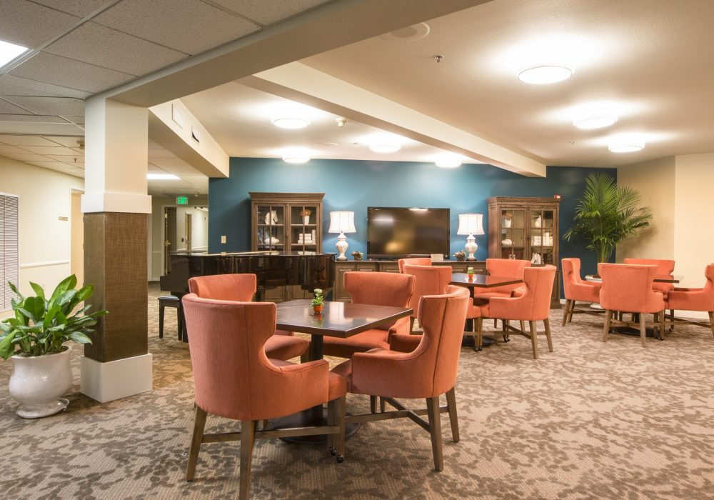 Activity Space - Canfield Place Retirement Community
