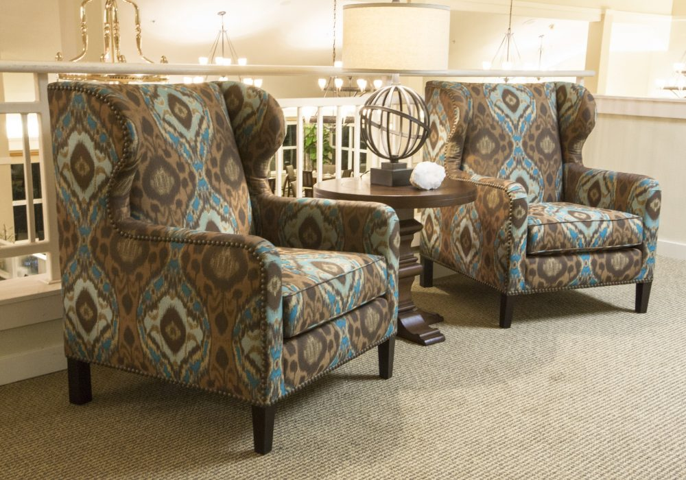Balcony Armchairs - Canfield Place Retirement Community