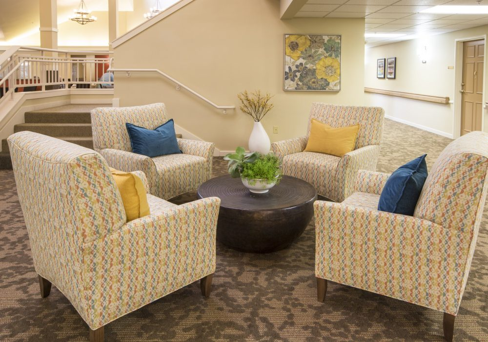 Common Area Seating - Canfield Place Retirement Community