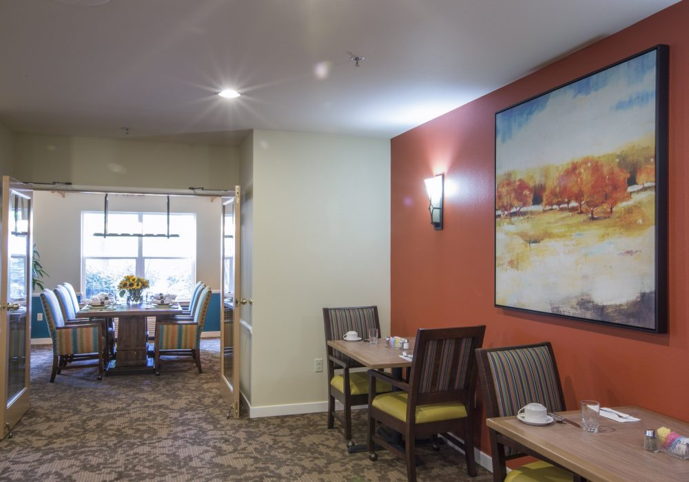 Dining Room Art - Canfield Place Retirement Community