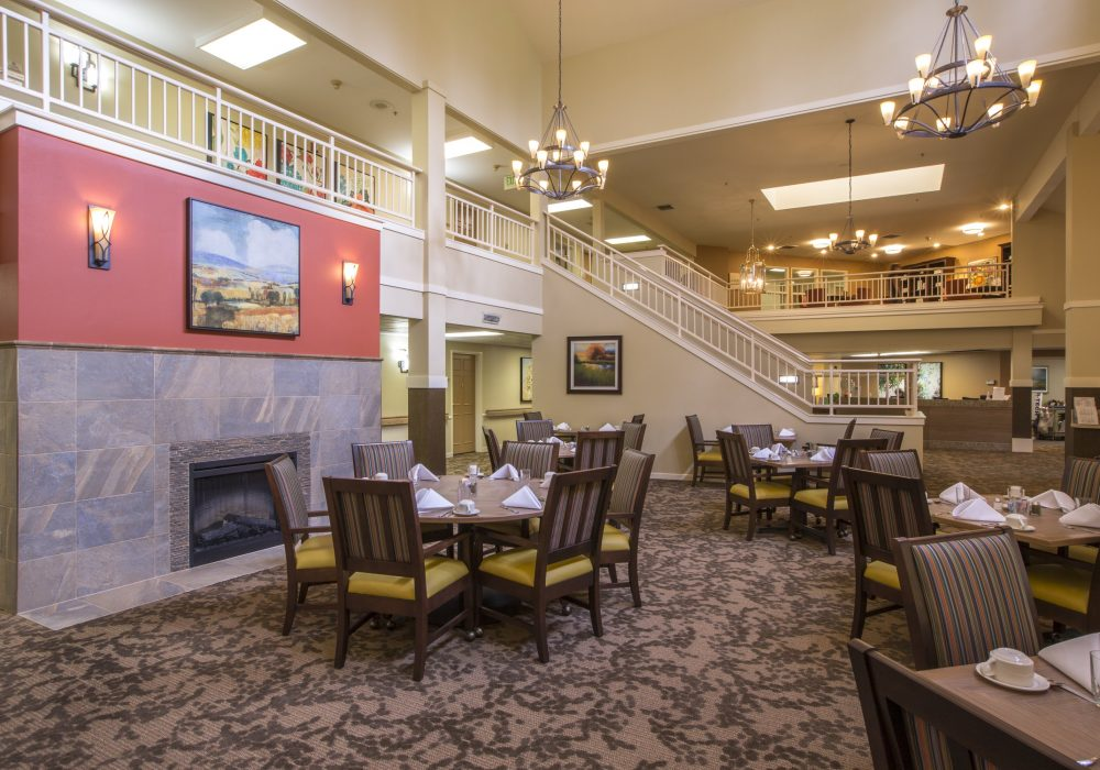Dining Room - Canfield Place Retirement Community