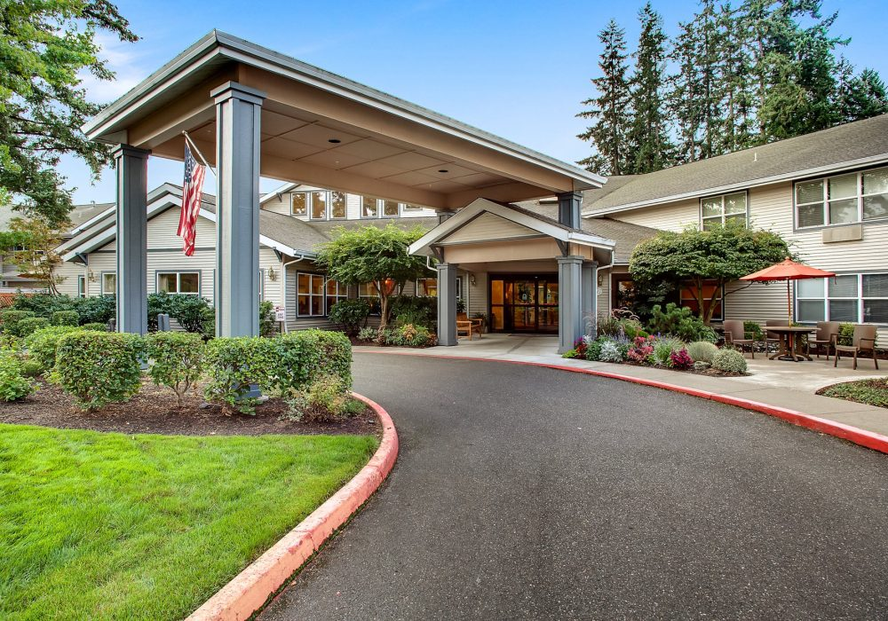 Entrance - Canfield Place Retirement Community