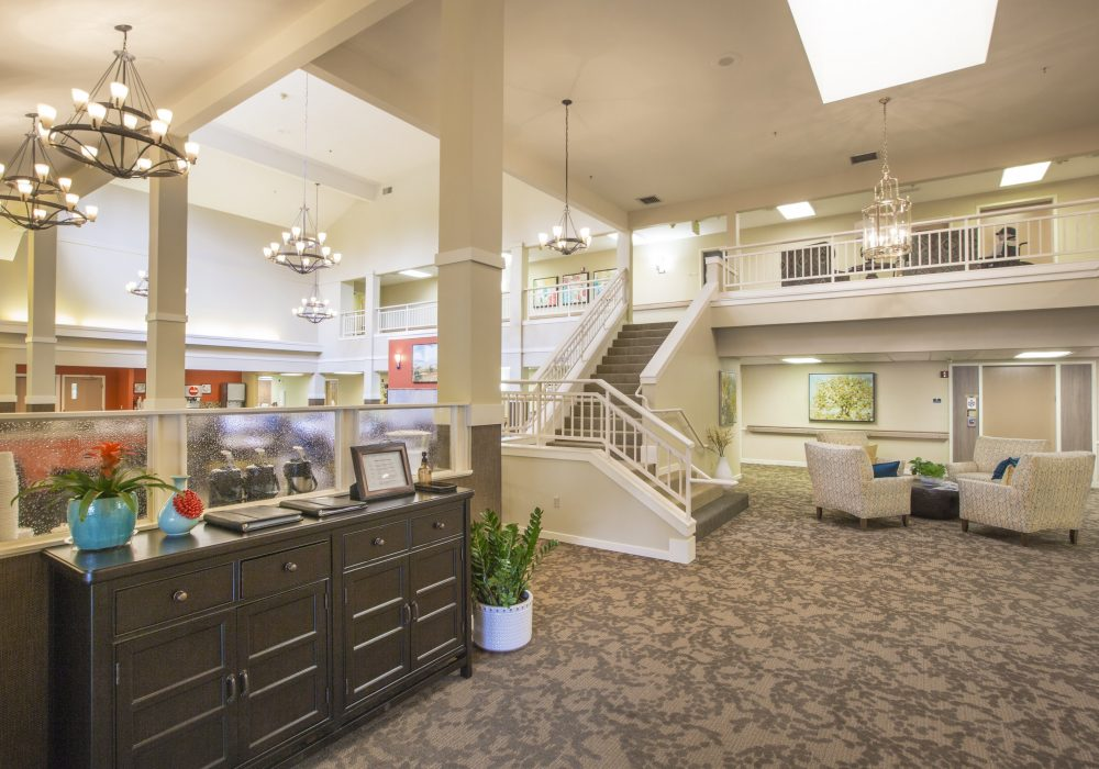 Grand Staircase - Canfield Place Retirement Community