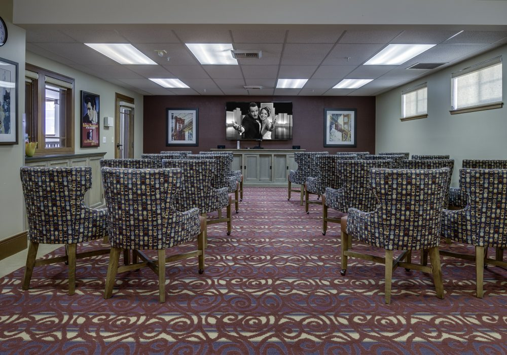 Theater - Fairwinds - Brittany Park Retirement Community