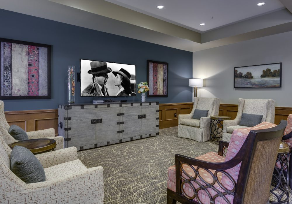 TV Seating - Fairwinds - Brittany Park Retirement Community