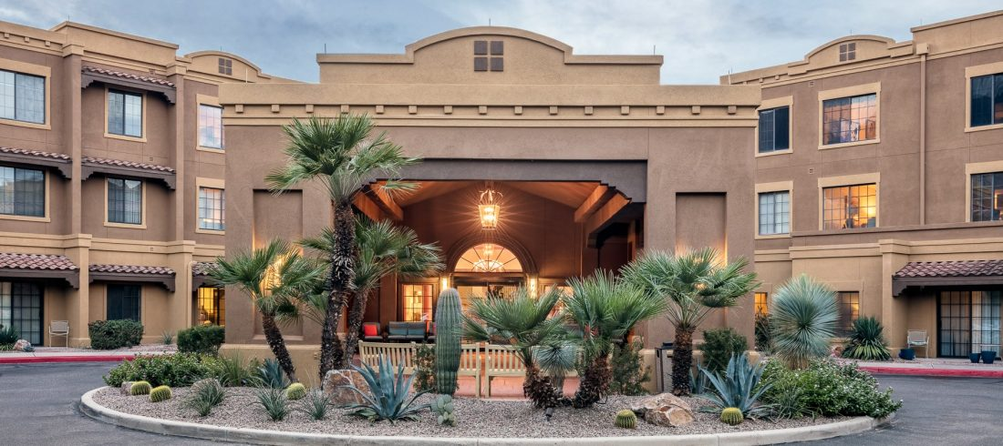 Exterior View - Fairwinds - Desert Point Retirement Community