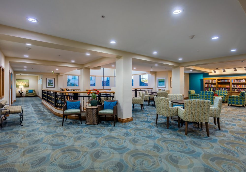 Common Room - Fairwinds - Ivey Ranch Retirement Community