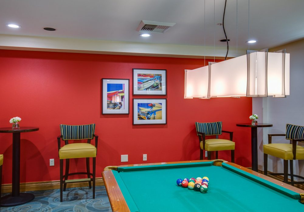 Game Room - Fairwinds - Ivey Ranch Retirement Community