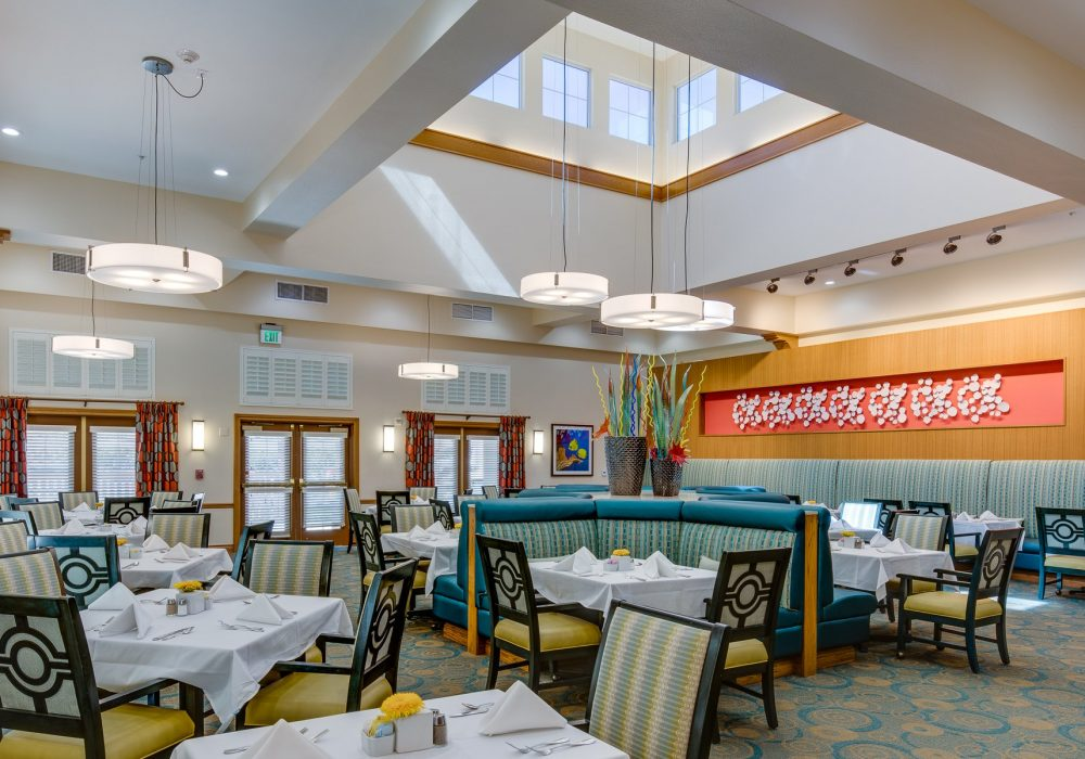Dining Room - Fairwinds - Ivey Ranch Retirement Community