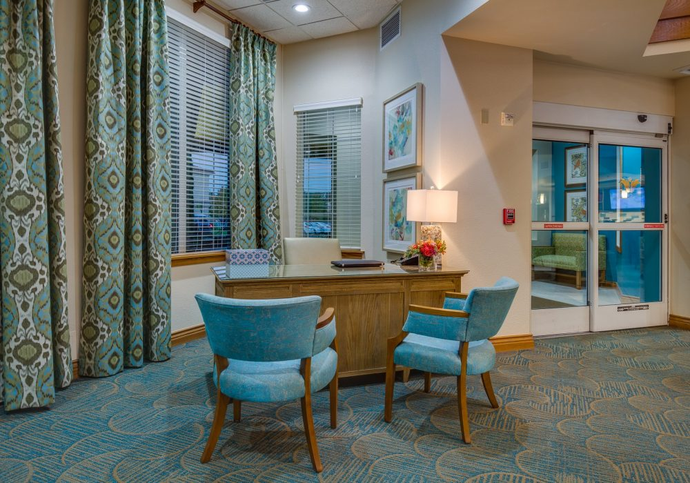 Guest Services Desk - Fairwinds - Ivey Ranch Retirement Community
