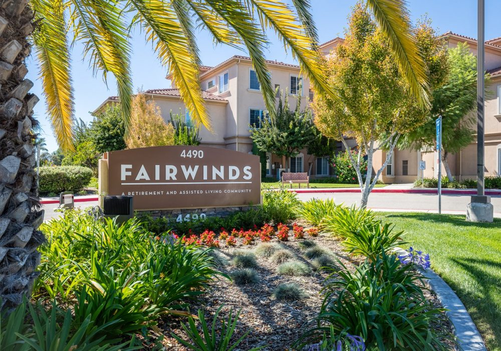 Exterior Sign - Fairwinds - Ivey Ranch Retirement Community