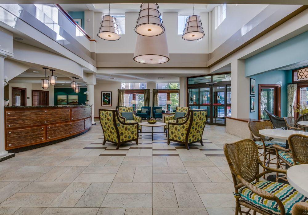 Lobby - Fairwinds - Redmond Retirement Community