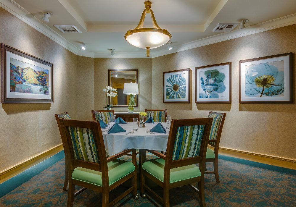 Private Dining Room - Fairwinds - Redmond Retirement Community
