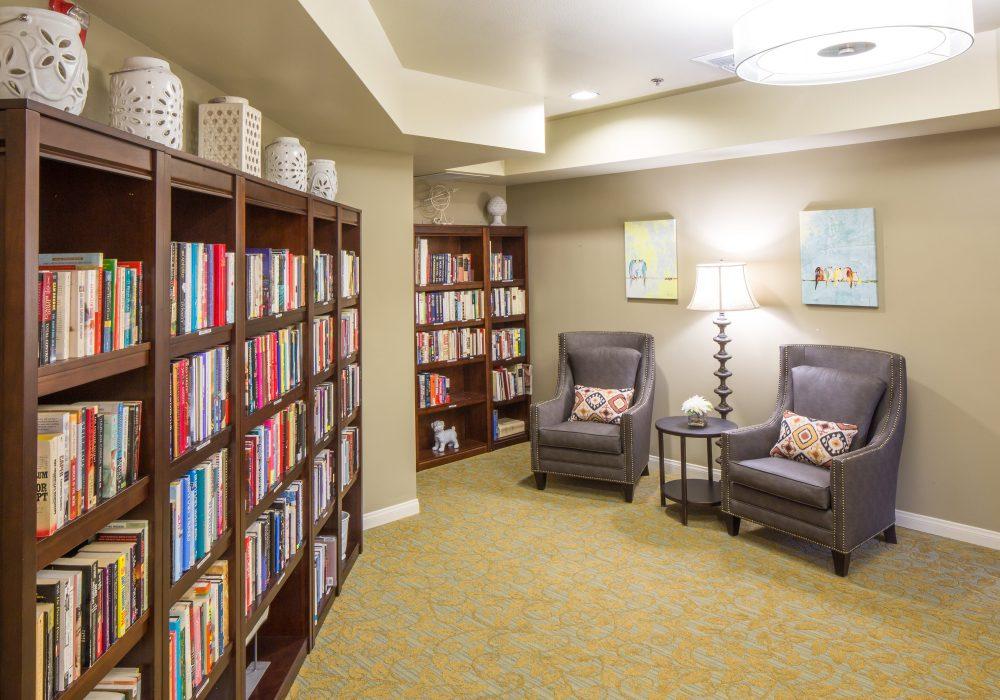 Library - Fairwinds - West Hills Retirement Community